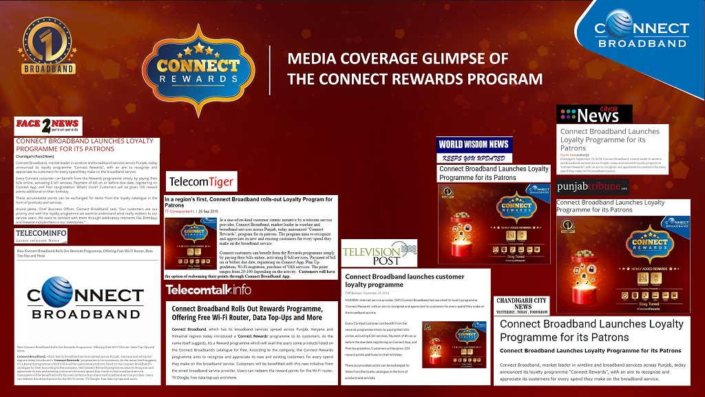 Connect Broadband launches customer loyalty programme